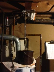 Water Heater Pipe Leak Cover Photo