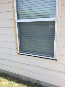Exterior Window Wood Trim Cover Photo