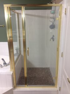 Replace Shower Glass Cover Photo