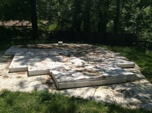 Wooden Pool Cover Removal Cover Photo