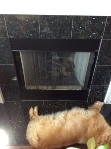 Refacing Granite On Fireplace Cover Photo