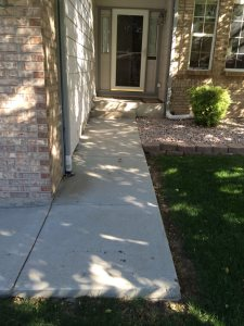 Replace Concrete Walkway & Porch Cover Photo