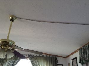 Ceiling Fan Wiring Cover Photo