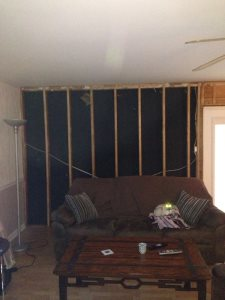 Drywall Living Room And Down Stairs Cover Photo