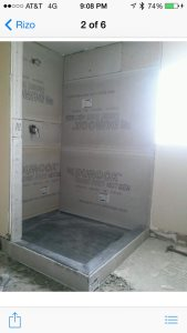 Glass Shower Enclosure Cover Photo