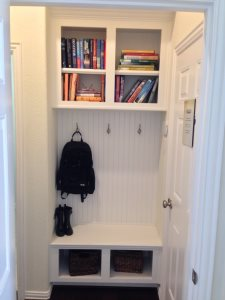 Built-In Mud Room Area Cover Photo