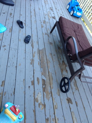 Deck Paint And Touch Up Cover Photo