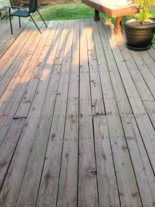 Deck Refinish And Stairs Cover Photo