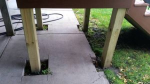 Install Concrete Slab For Patio Cover Photo