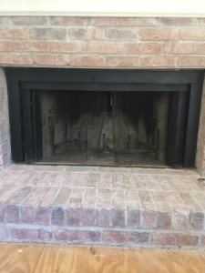 Fireplace Glass Screen  Cover Photo