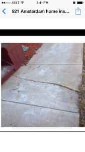 Stamped Concrete Repair