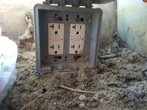 Outside Electrical Outlet Cover Photo