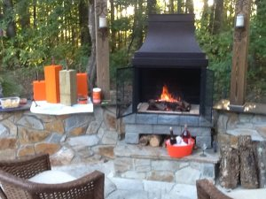 Outdoor Fireplace Cover Photo