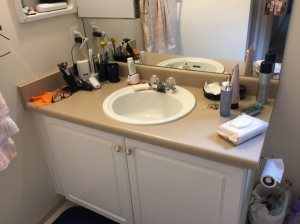 Changing Sink Cover Photo