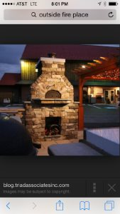 Outdoor Fireplace And Pizza Oven Cover Photo