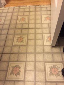 Bathroom Floor Cover Photo