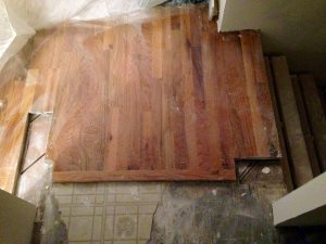 Locust St - Extend hardwood to mud room & stairs Cover Photo