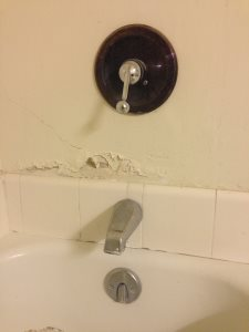 Install new faucet for bath tub. Cover Photo