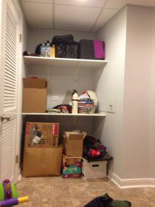 Mudroom With Shelves And Bench Cover Photo