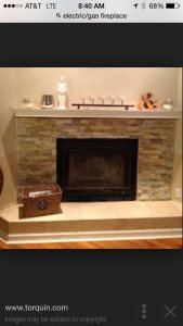 Electric/Gas Fireplace Cover Photo