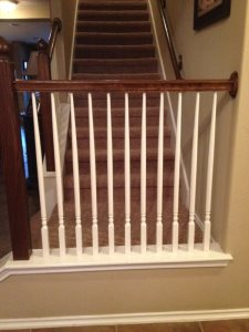 Stair Banister Cover Photo