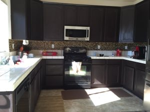 Painting Cabinets And Change Countertop Cover Photo