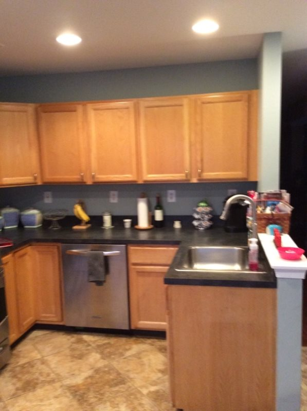 cost of new kitchen cabinets and granite in bedminster nj