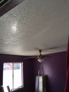 Popcorn Ceiling Cover Photo
