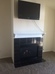 Fireplace And Power Outlet Cover Photo