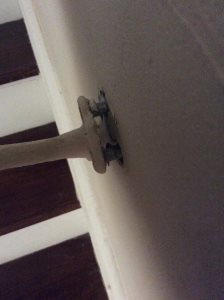 Screw Rail In Stairwell Cover Photo
