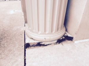 Home Entry Column Base Replacement Cover Photo