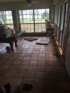Remove Tile Floor Cover Photo