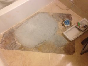 Repair Tile Floor Cover Photo