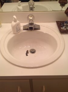 Replace A Bathroom Sink Cover Photo