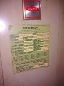 Air Handler Replacement Cover Photo