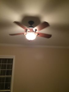 Hang Ceiling Fan Cover Photo
