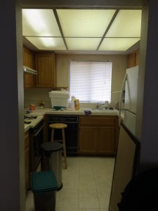 Kitchen Renovations on a Budget Before Photo