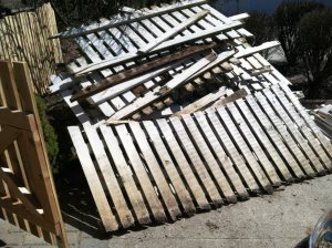 Cedar Fence Removal Cover Photo