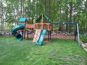 Swingset Installation Cover Photo