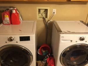 Relocate Washer/Dryer Plumbing Cover Photo