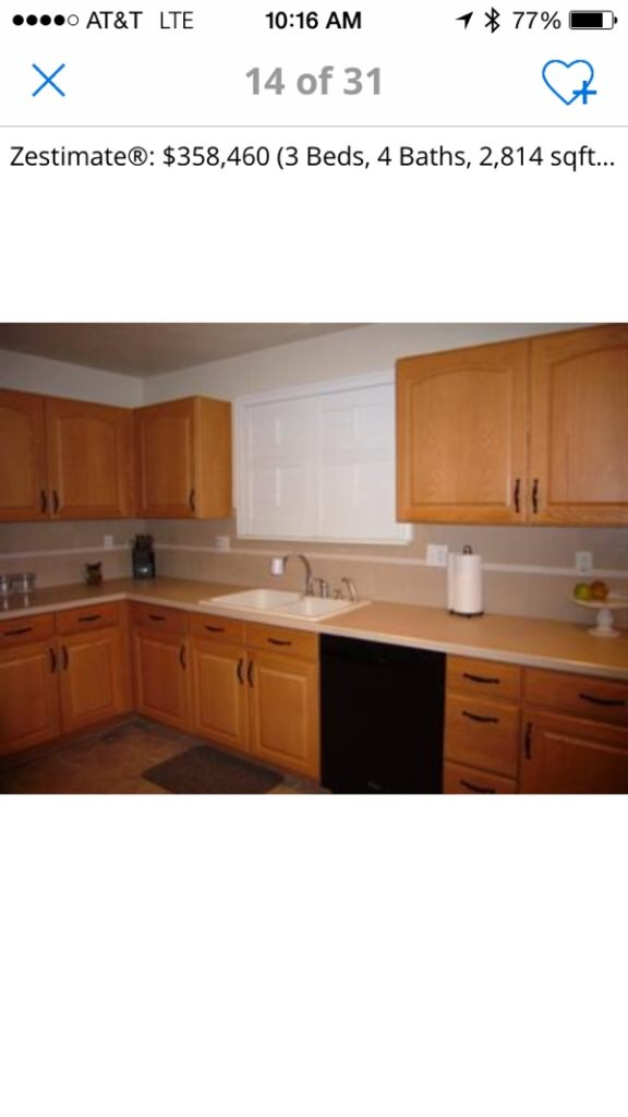 Cost of painting or staining kitchen cabinets in thornton co for How much does it cost to stain cabinets