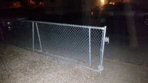Chain Link Gate Cover Photo
