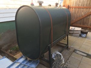 Hook Up 275 Gallon Above Ground Oil Tankome Cleaning Cover Photo