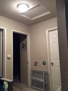 Install Attic Stairs Cover Photo