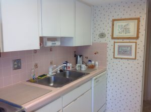 Kitchen And New Counter Top Cover Photo