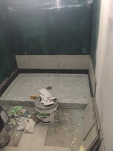 Master Bathroom Tile Work Cover Photo