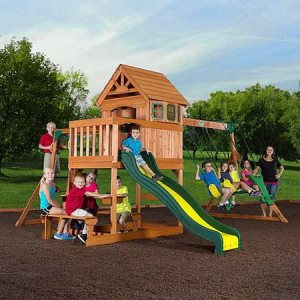 Build Swing Set Cover Photo