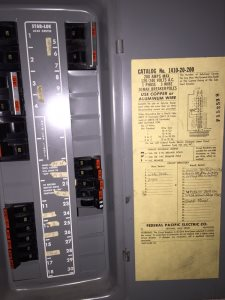 Replacing A Federal Pacific Electrical Panel Cover Photo