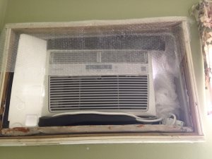 Air Conditioner Trim Cover Photo