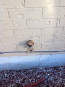 Repair Water Pipe Cover Photo